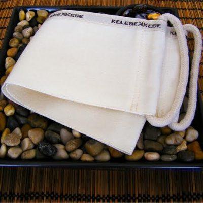 Exfoliating THICK back scrubber 100% Natural Turkish mitt / kese / kesse