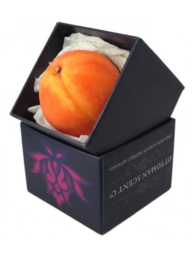 Peach Shaped Handmade Soap The Furriness Of The Peach