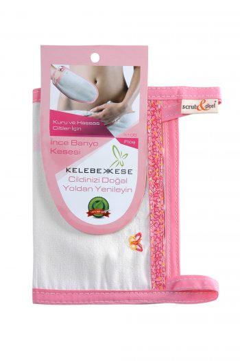 Pink Exfoliating Glove Kese Turkish Bath Hamam